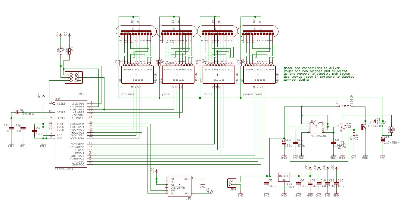 Barnacles Nixie Clock Circuits Images Schematic If You Dont Want To Worry About Eagle
